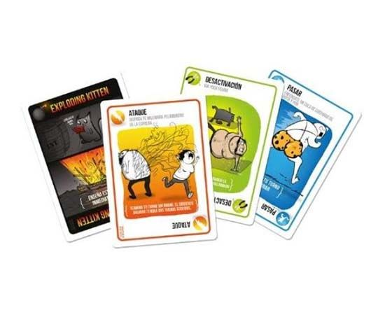 Exploding Kittens juego